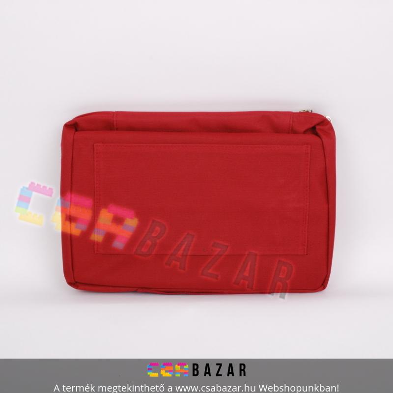 537eecd6e1a5 Összecsukható kerekes bevásárló táska, cipzáros zsebekkel - Csabazár ...