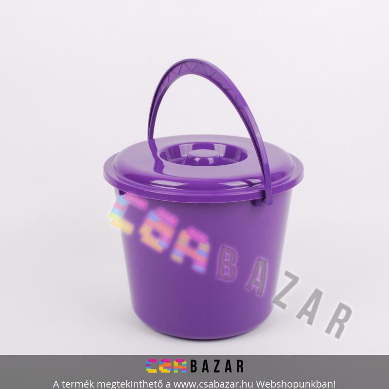 d7c53c70a077 18 L-es műanyag vödör tetővel - Csabazár webáruház
