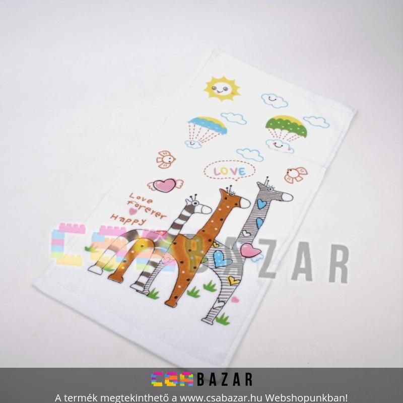 Törölköző gyerekmintás 26 x 48cm - Csabazár webáruház a1d0c78c28