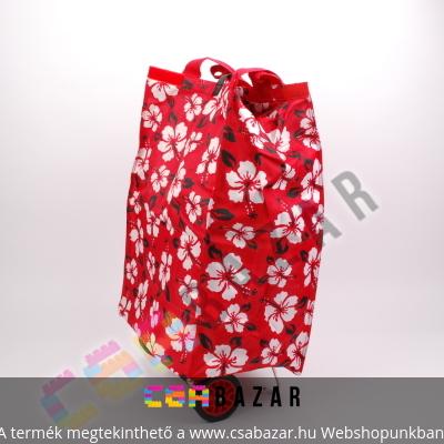 3ea171475970 Fashion kerekes bevásárlótáska cipzáros zsebekkel - Csabazár webáruház
