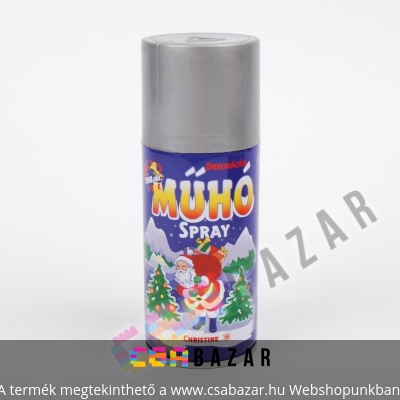 Műhó spray 150ml ezüst