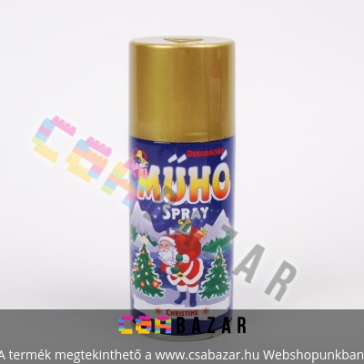 Műhó spray 150ml arany