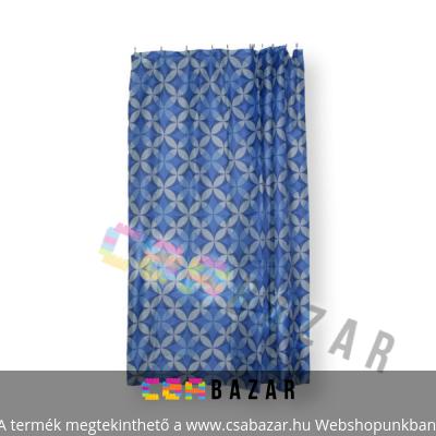 Textil zuhanyfüggöny 180 x 200 cm kék eb99aa318c